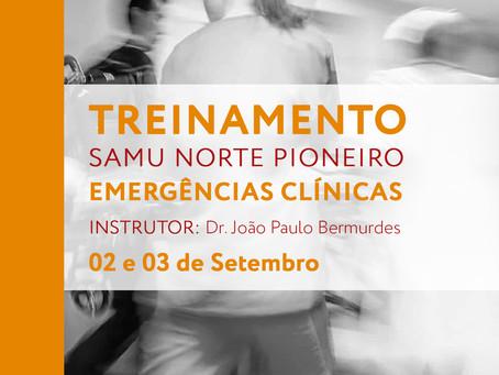 Treinamento em Emergências Clínicas SAMU NP.