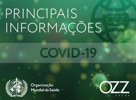 Principais informações sobre a COVID-19 segundo a OPAS/OMS