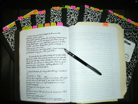 Handwriting Novel Rough Draft
