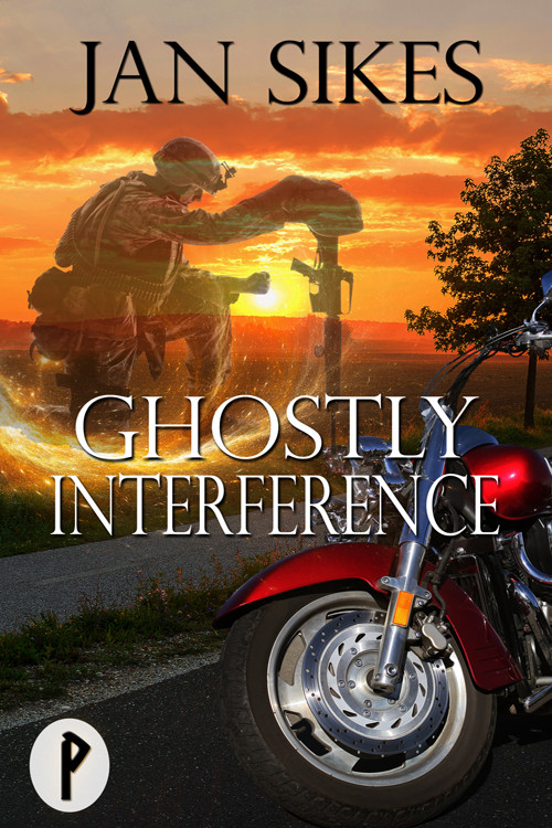 GHOSTLY INTERFERANCE by Jan Sikes