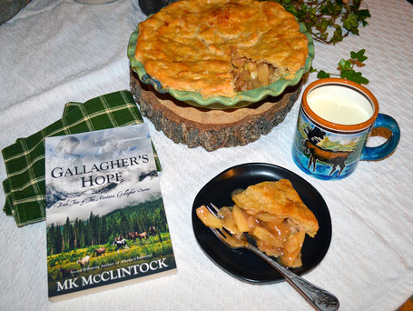 Book Break with Gallagher's Hope - Delicious Apple Pie