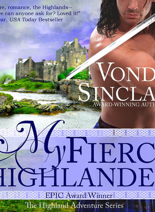 A Reader's Opinion: MY FIERCE HIGHLANDER by Vonda Sinclair (Audiobook)