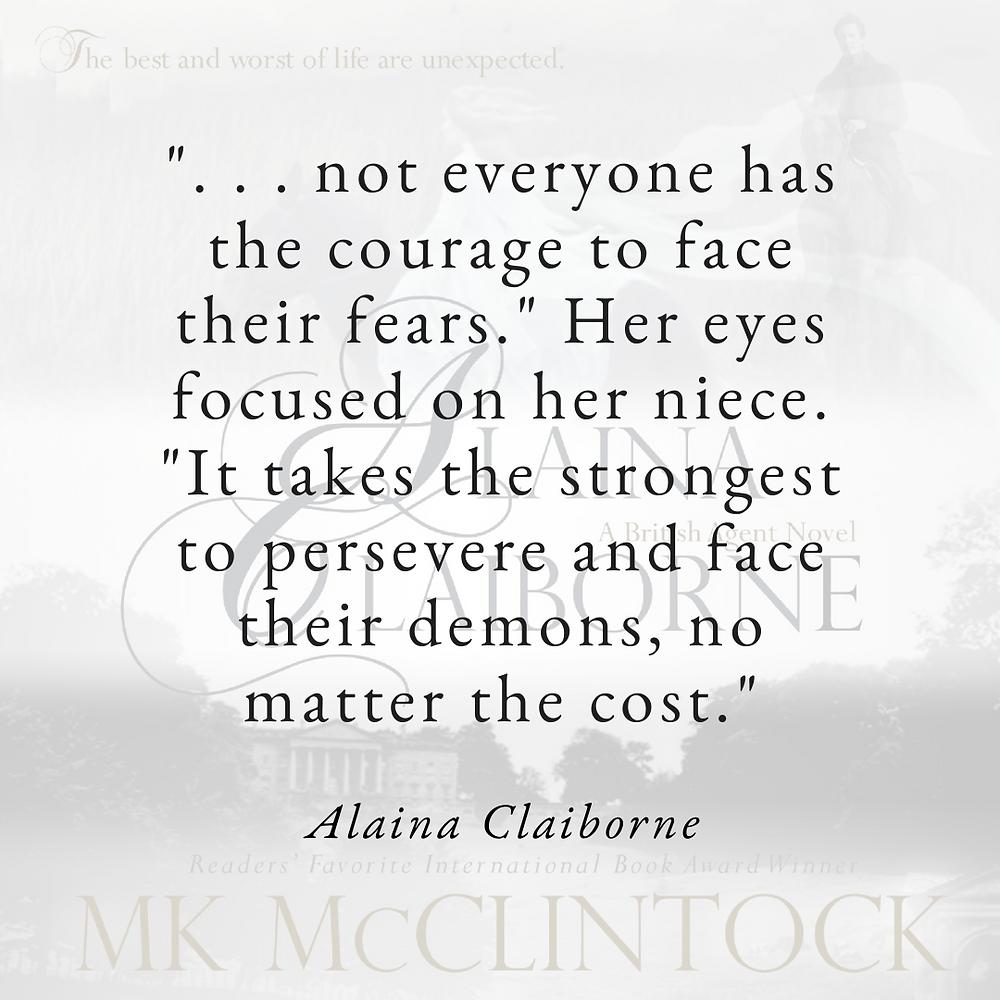 Courage with ALAINA CLAIBORNE - historical romance novel
