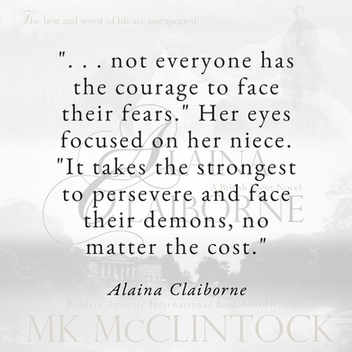 Courage with ALAINA CLAIBORNE