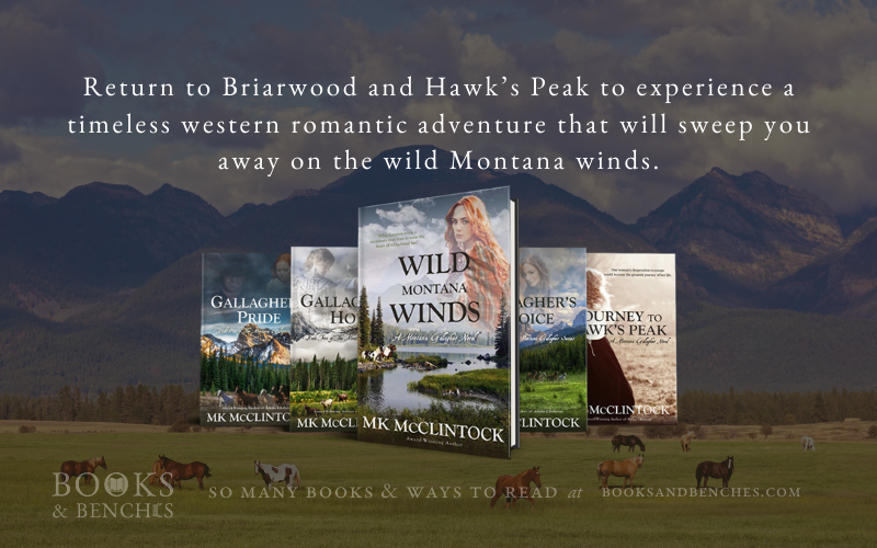 The Montana Gallagher series by MK McClintock