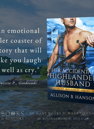 "Her Accidental Highlander Husband by Allison B. Hanson - ""Instant Fan"" - Interview"