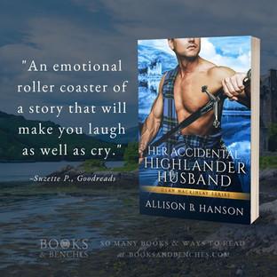 "Her Accidental Highlander Husband by Allison B. Hanson - ""Instant Fan"" - Interview"