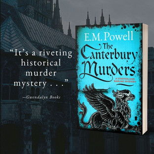 """Incredible"" - THE CANTERBURY MURDERS by E.M. Powell - Excerpt"