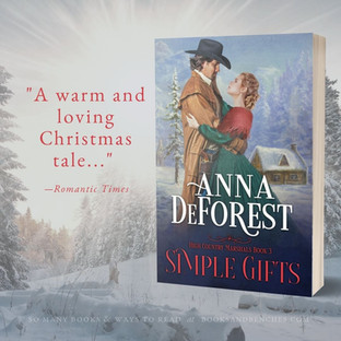 """""""Unforgettable"""" - Simple Gifts by Anna DeForest - Spotlight"""