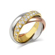 Tri-color Rolling Ring