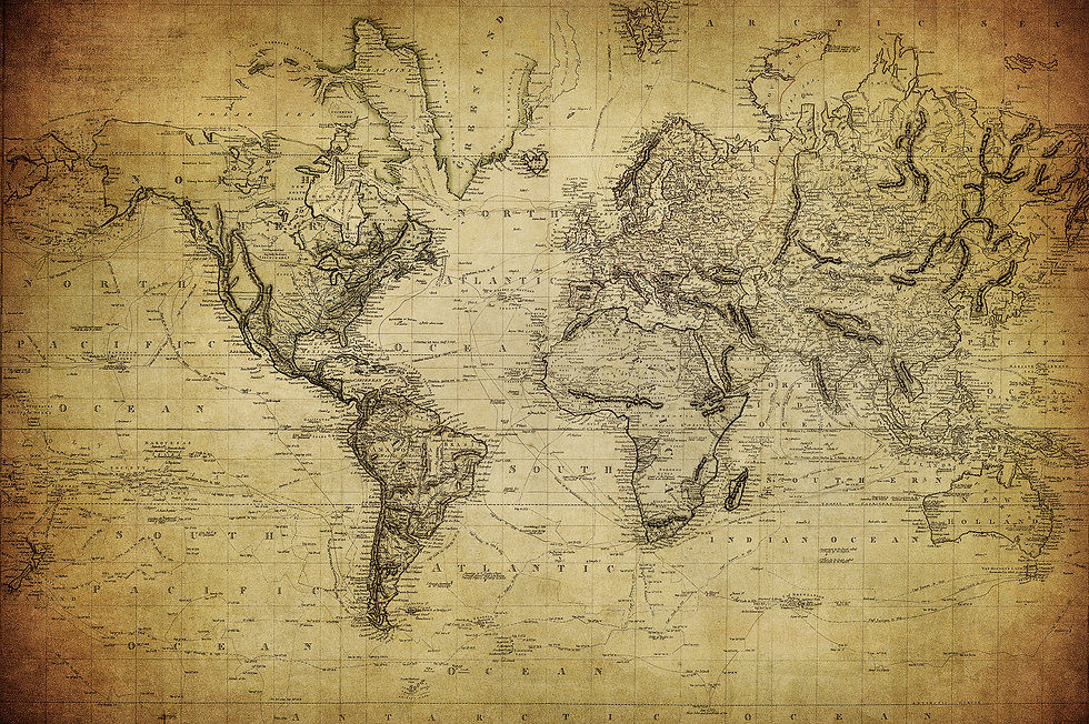 vintage map of the world 1814.jpg