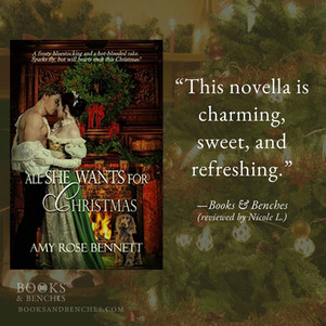 ALL SHE WANTS FOR CHRISTMAS by Amy Rose Bennett - A Reader's Opinion