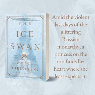 "THE ICE SWAN by J'Nell Ciesielski - Interview - ""Beautiful"""