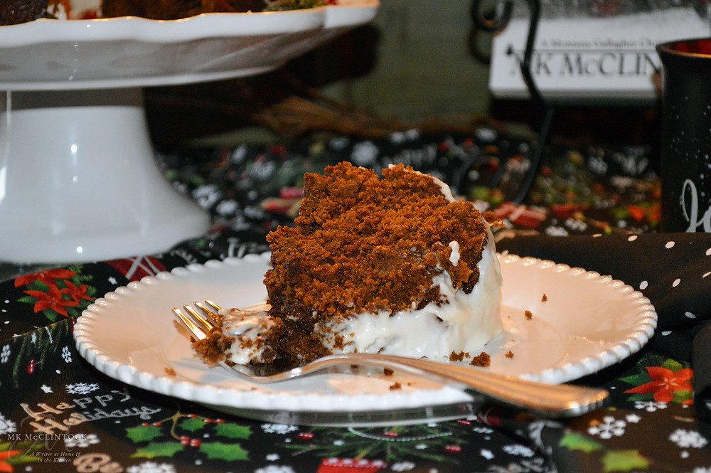 Book Break with An Angel Called Gallagher - Gingerbread Bundt Cake - ©MK McClintock