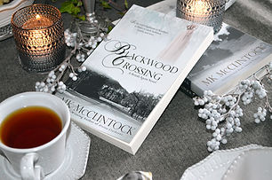 Book Break with Blackwood Crossing - Old-Fashioned Blackberry Cobbler