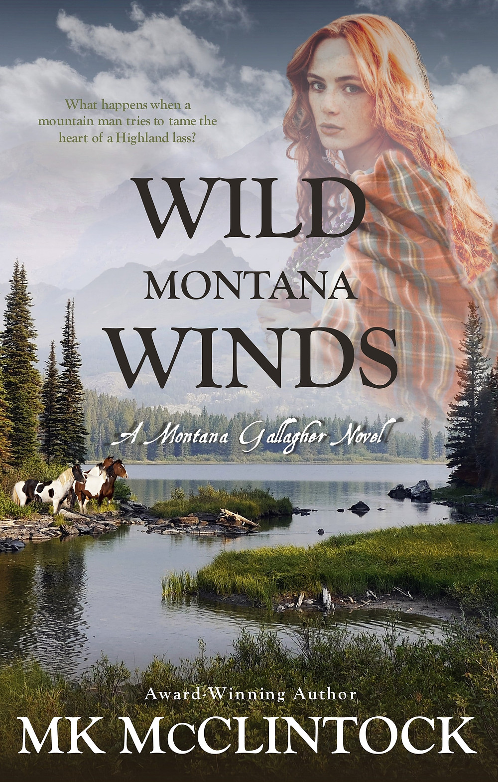 Wild Montana Winds by MK McClintock