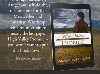 "History with Heart in ""High Valley Promise"" by Samantha St. Claire"
