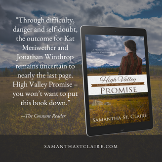 """History with Heart in """"High Valley Promise"""" by Samantha St. Claire"""