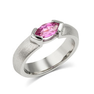 Chevron Bezel Ring