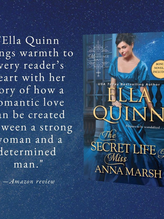 """Excellent"" - The Secret Life of Miss Anna Marsh by Ella Quinn - Excerpt"