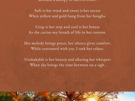 Autumn and I