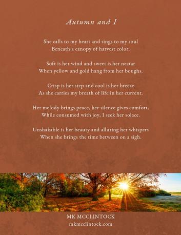 Autumn and I_poem_MK McClintock