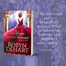 THE VIRGIN AND THE VISCOUNT by Robyn DeHart - Spotlight