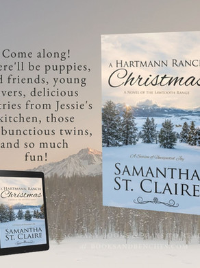 """Cozy"" - A Hartmann Ranch Christmas by Samantha St. Claire - Excerpt"