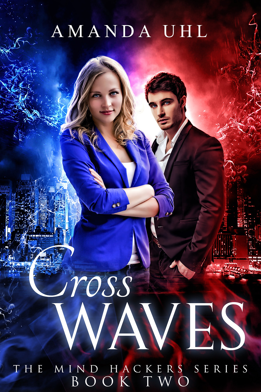 Cross Waves by Amanda Uhl - The Mind Hackers Series