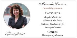 Author Miranda Liasson