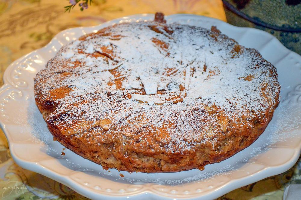 Cast-Iron Irish Apple Cake with MK McClintock - writer in the kitchen