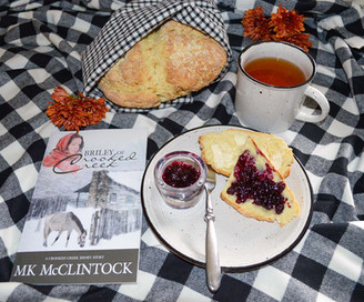 "Tea Time with ""Briley of Crooked Creek"" - Irish Soda Bread"