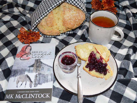 "Tea Time with ""Briley of Crooked Creek"" - Irish Soda Bread"