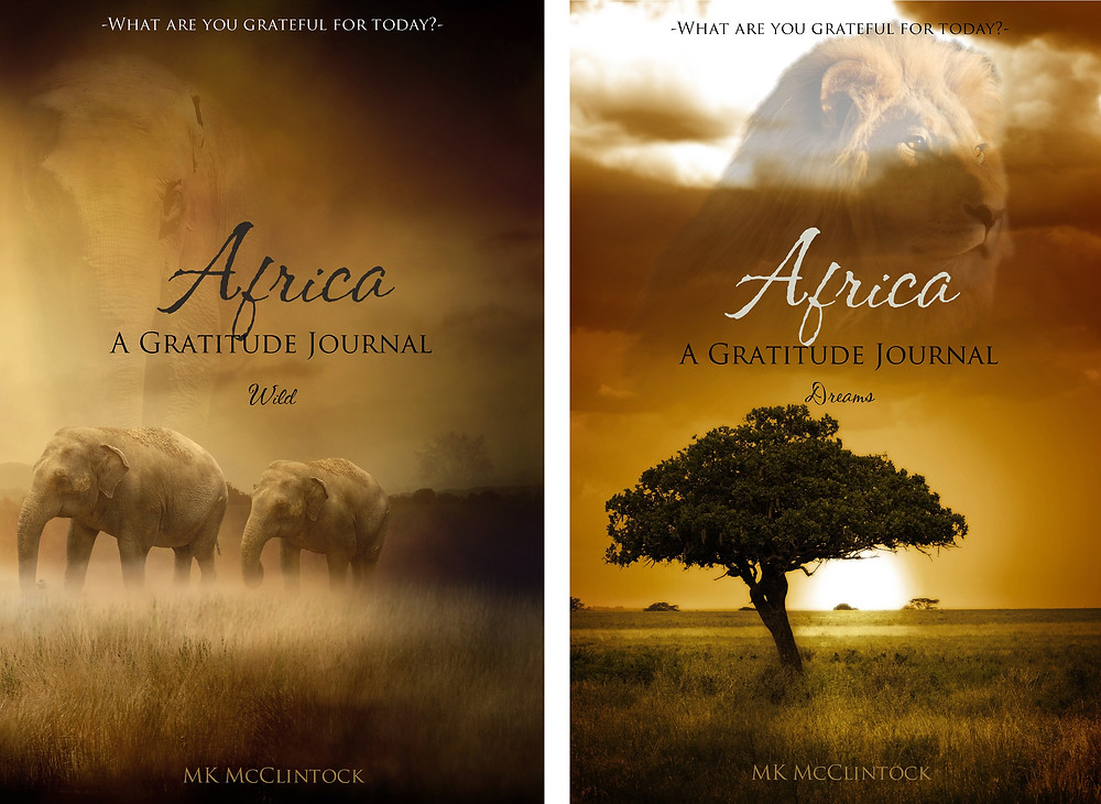 Africa Collection Gratitude Journals by MK McClintock