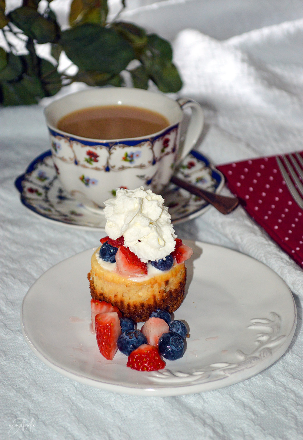 Mini cheesecakes - MK McClintock - Writer in the Kitchen