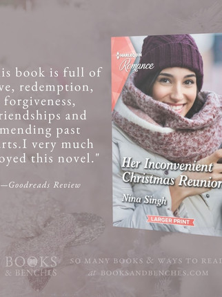 """""""Enjoyable"""" - Her Inconvenient Christmas Reunion by Nina Singh - Interview"""
