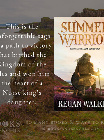 """Brilliantly Written"" - Summer Warrior by Regan Walker - Excerpt"