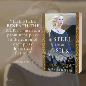 THE STEEL BENEATH THE SILK by Patricia Bracewell - Interview