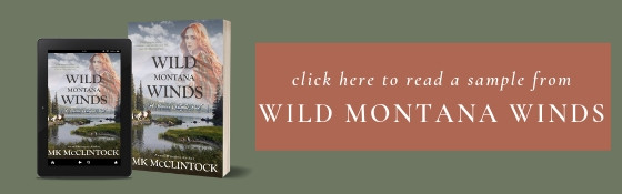Excerpt from Wild Montana Winds, a historical western romance novel