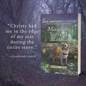 """""""Fast-Paced"""" - MOUNTAIN SURVIVAL by Christy Barritt - Excerpt"""