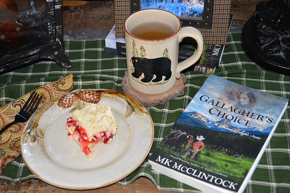 Tea Time Book Break with Gallagher's Choice - ©MK McClintock