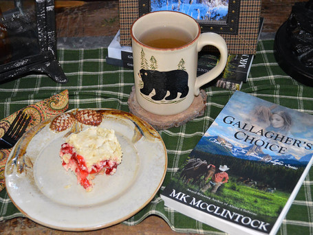 Tea Time with Gallagher's Choice - Cherry Crumb Pie Bars