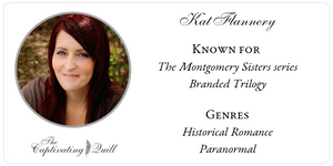 Author Kat Flannery at The Captivating Quill
