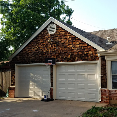 Exterior Garage and Painting - After Wichita Falls, Texas