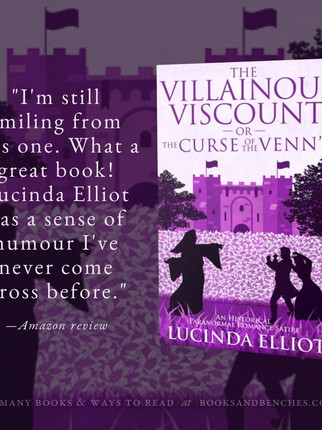 """Hilarious"" - The Villainous Viscount by Lucinda Elliot - Interview"
