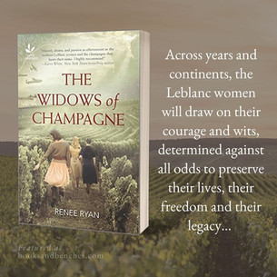 """THE WIDOWS OF CHAMPAGNE by Renee Ryan - Excerpt - """"Engaging"""""""