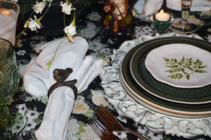 A Medley of Green Tablescape_PottertonHill.com