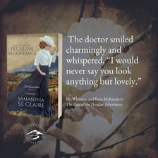 Don't Miss THE CASE OF THE PECULIAR INHERITANCE by Samantha St. Claire - Excerpt
