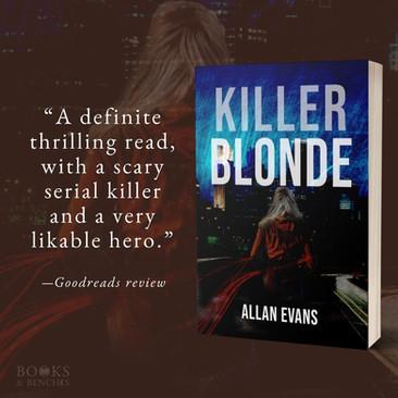 """Intriguing"" - KILLER BLONDE by Allan Evans - Interview"
