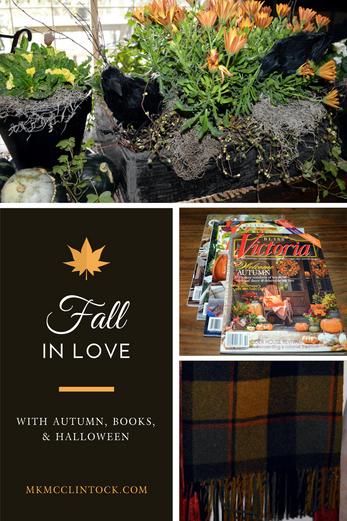 Rainy Days, Writing, and Halloween Decorating